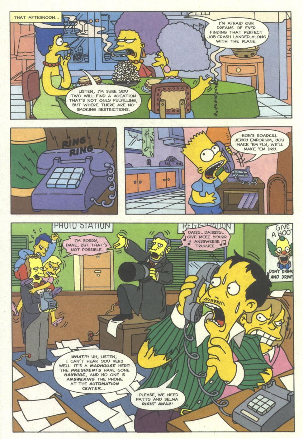 Read online Simpsons Comics comic -  Issue #16 - 21