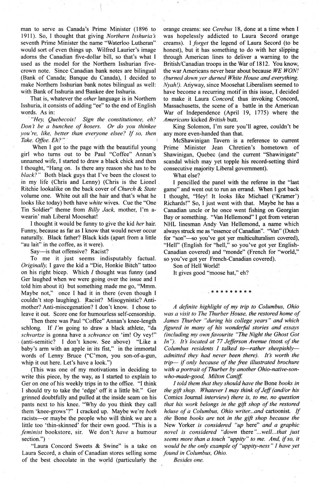 Cerebus Issue #267 #266 - English 26