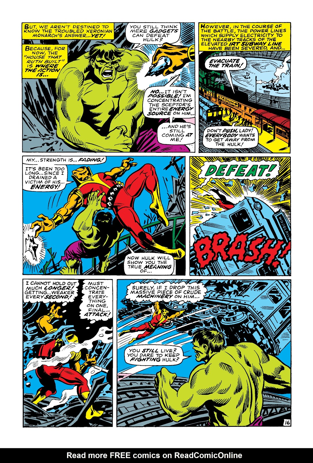 Read online Marvel Masterworks: The Incredible Hulk comic -  Issue # TPB 4 (Part 1) - 23