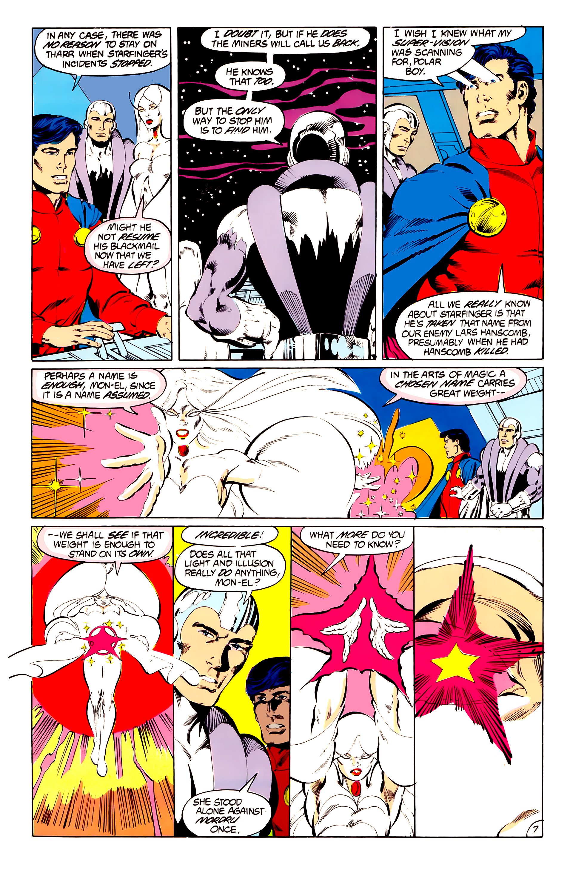 Legion of Super-Heroes (1984) 41 Page 7