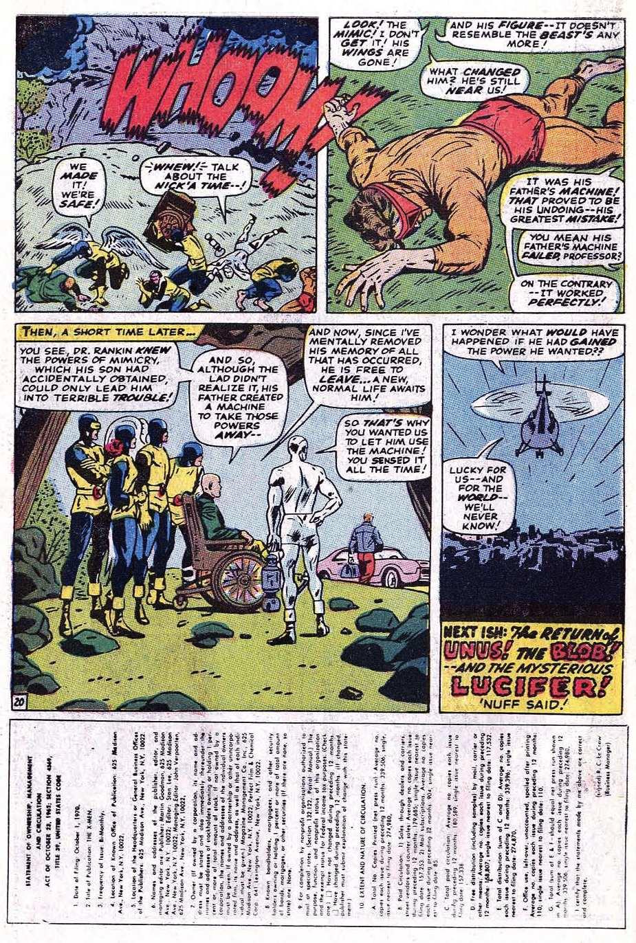 Read online Uncanny X-Men (1963) comic -  Issue #69 - 50