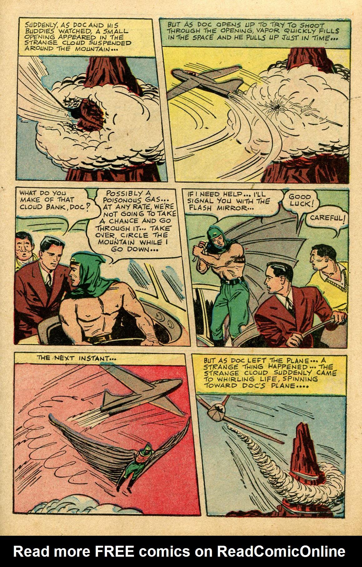 Read online Shadow Comics comic -  Issue #69 - 19