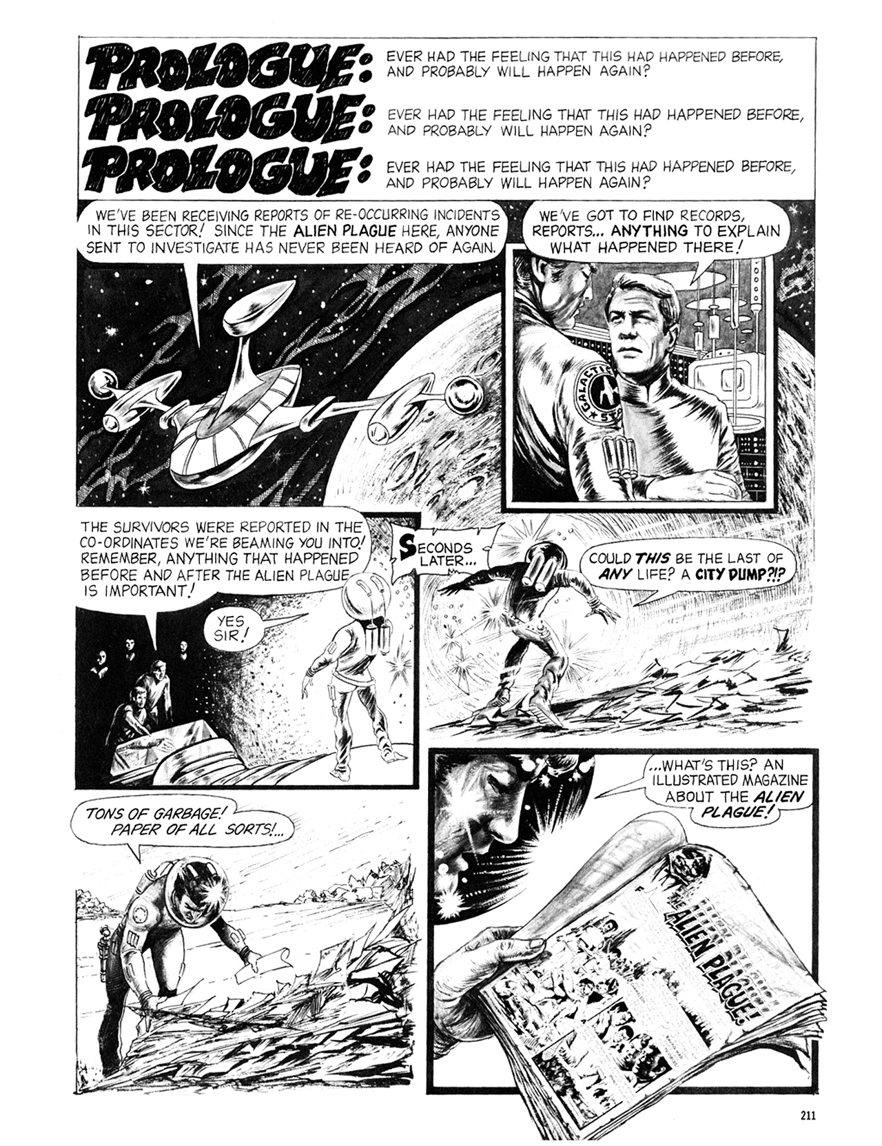 Read online Eerie Archives comic -  Issue # TPB 6 - 211
