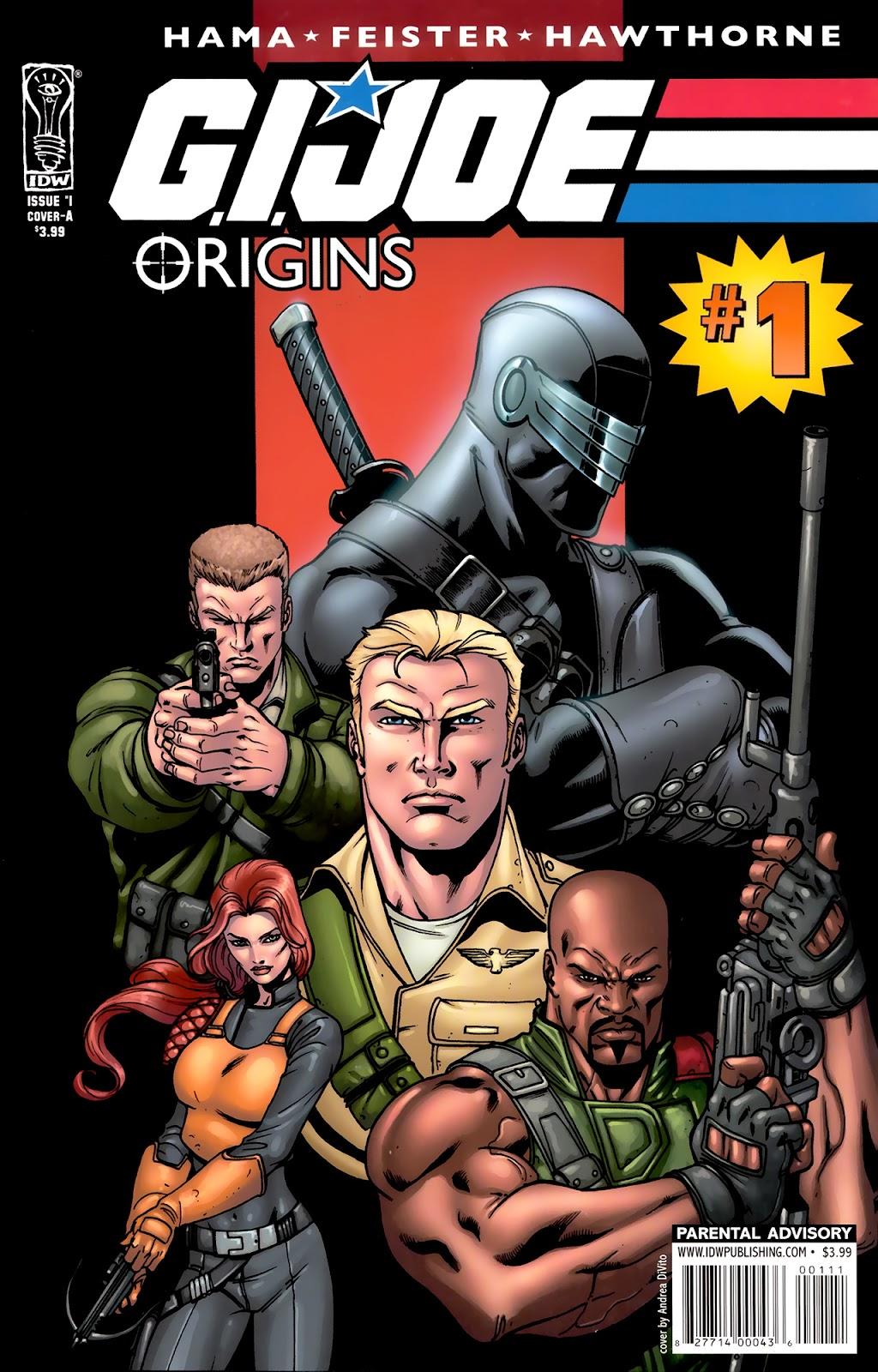 G.I. Joe: Origins issue 1 - Page 1