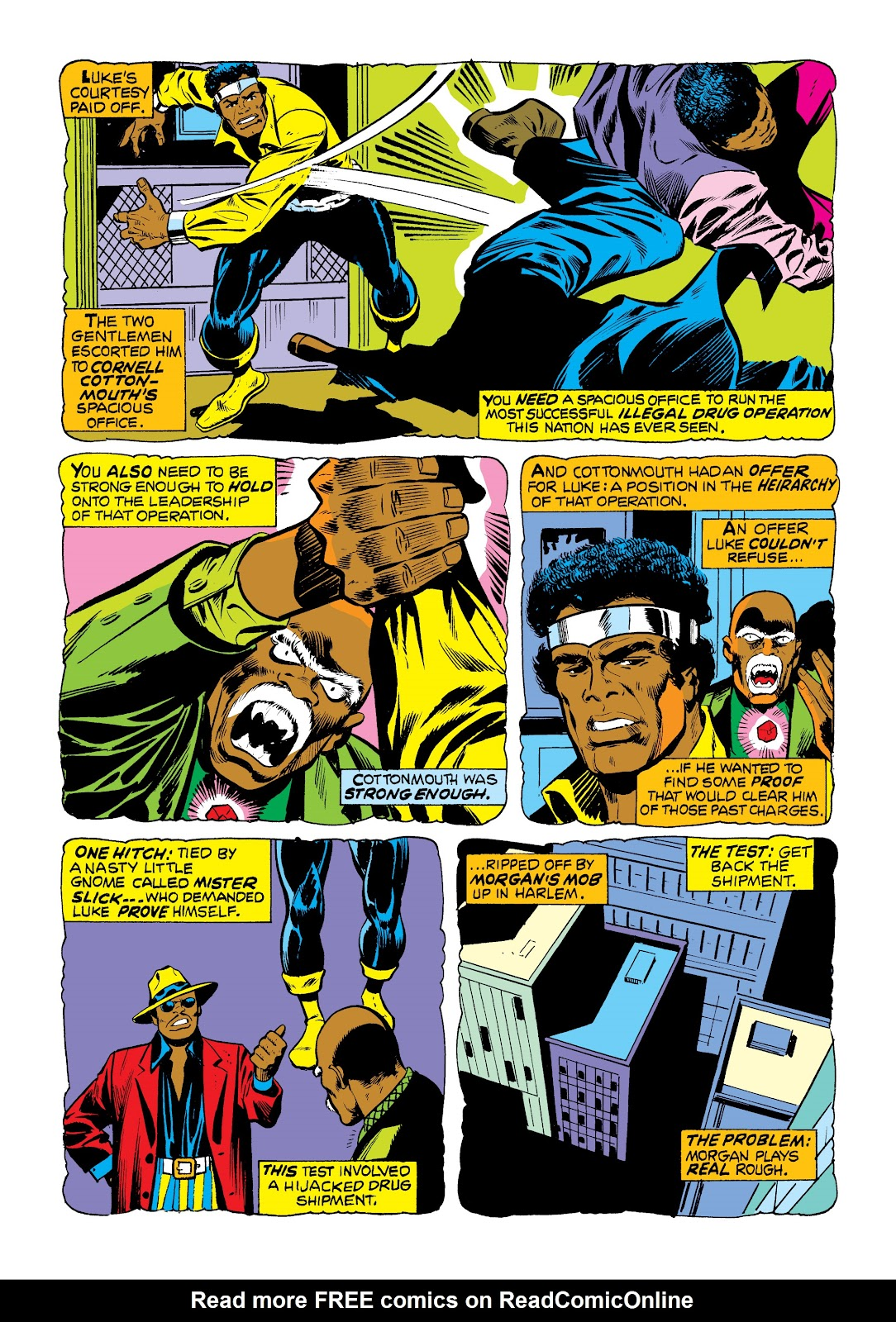 Read online Marvel Masterworks: Luke Cage, Power Man comic -  Issue # TPB 2 (Part 1) - 71