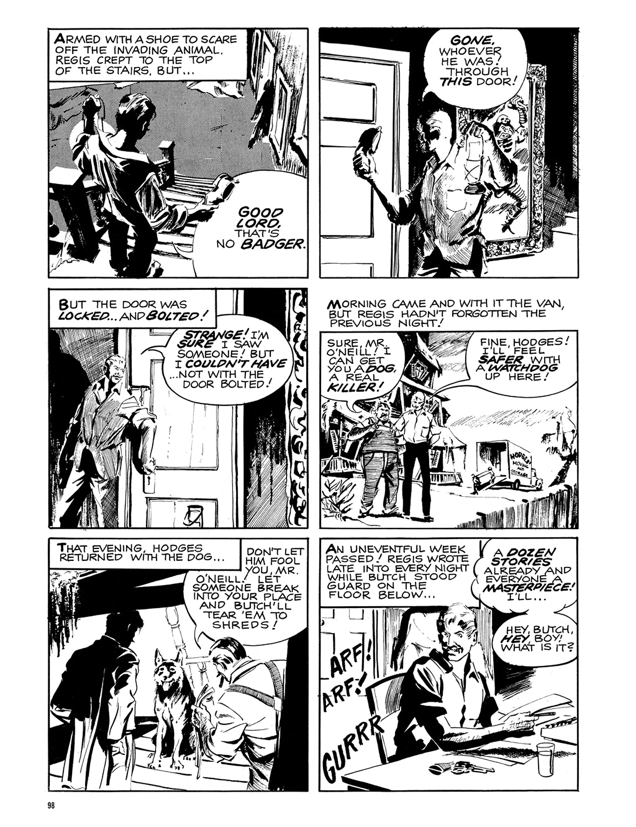 Read online Eerie Archives comic -  Issue # TPB 6 - 99