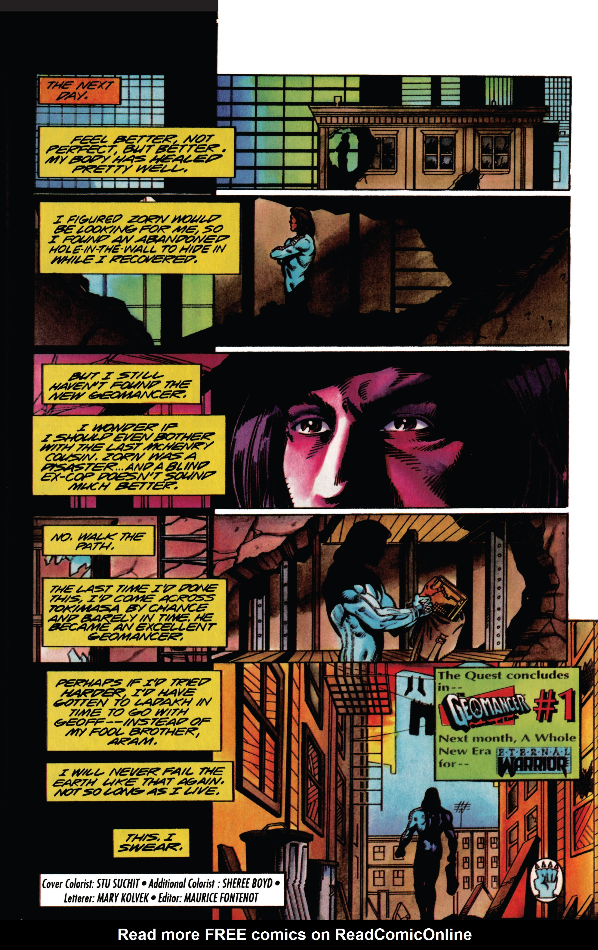 Read online Eternal Warrior (1992) comic -  Issue #27 - 21