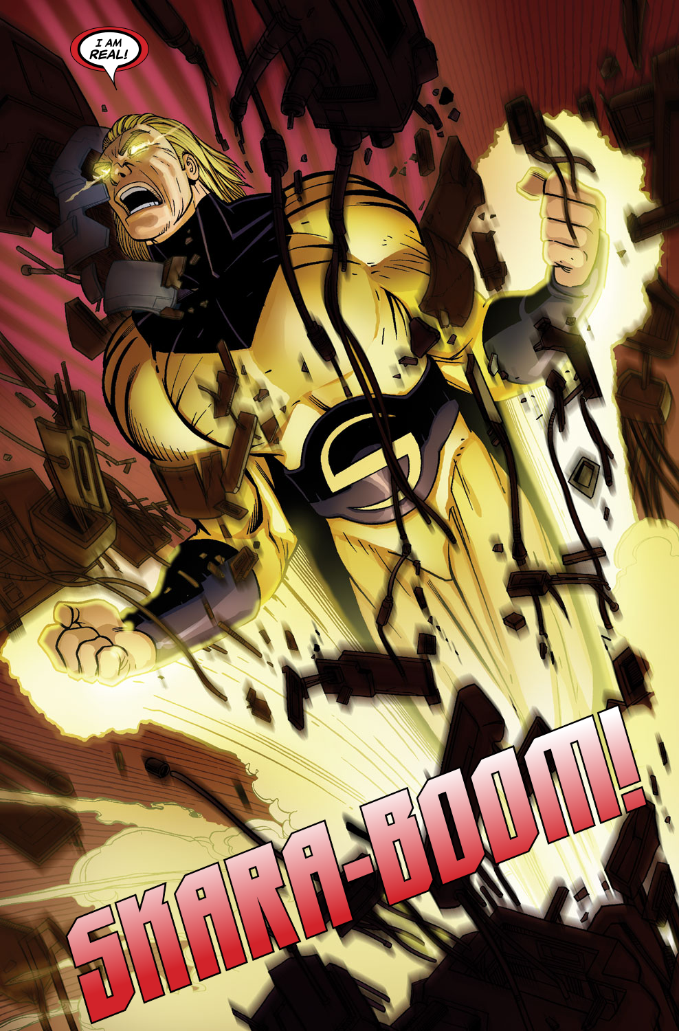 Read online Sentry (2006) comic -  Issue #7 - 16