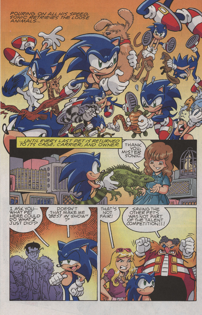 Read online Sonic X comic -  Issue #36 - 28