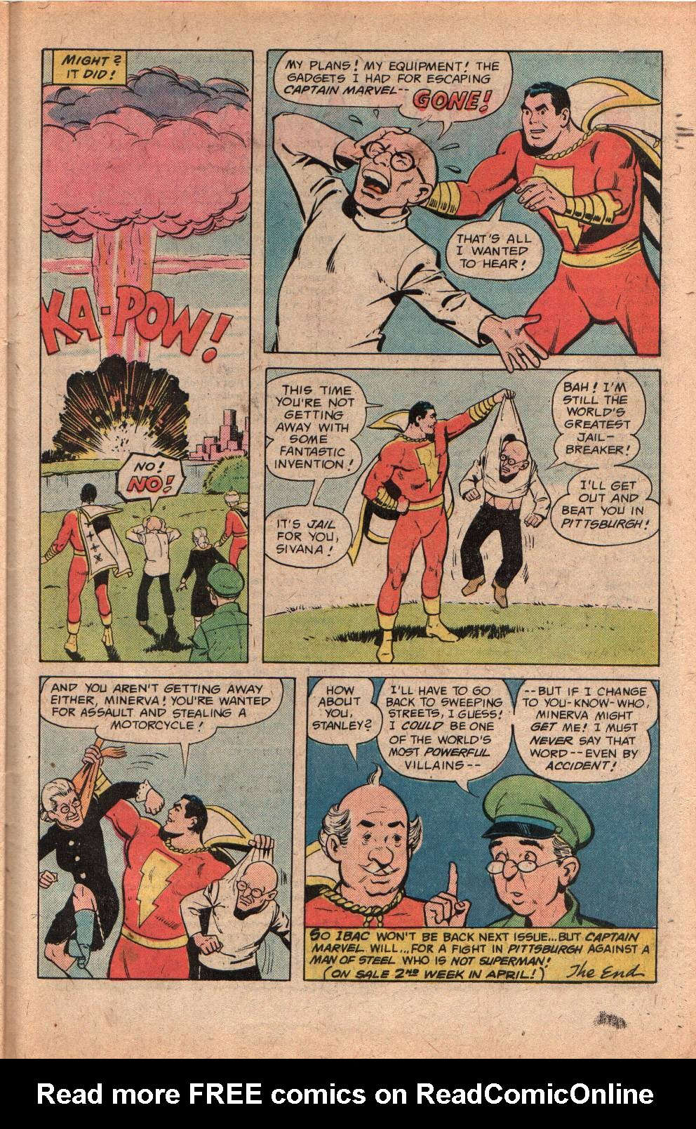 Read online Shazam! (1973) comic -  Issue #29 - 31