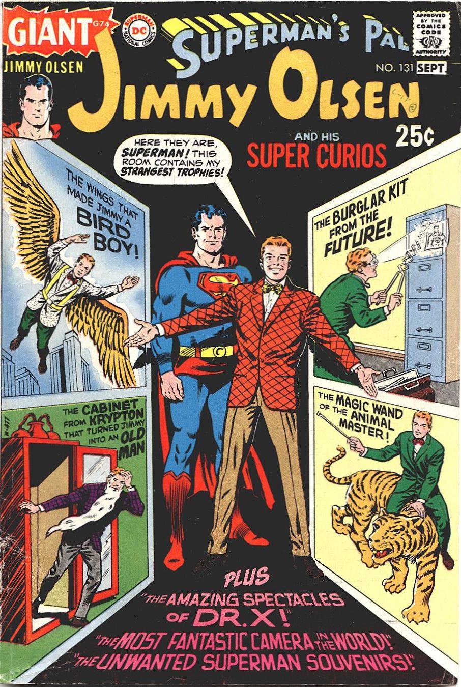 Supermans Pal Jimmy Olsen (1954) 131 Page 1