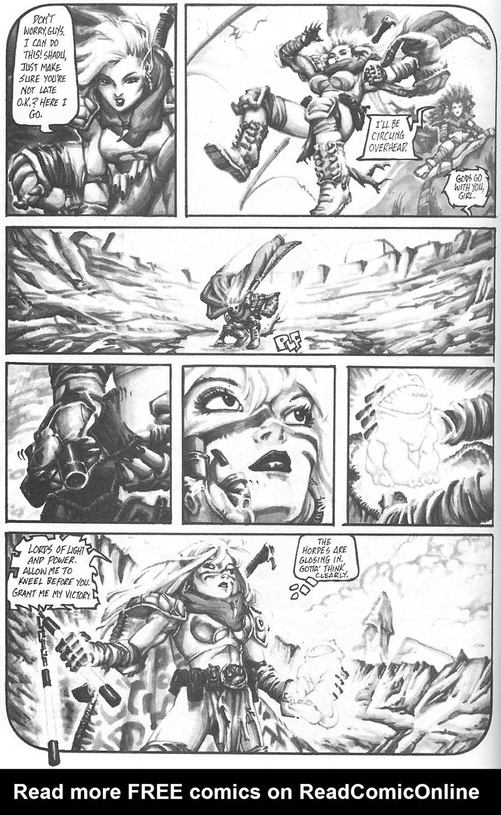 Read online Animal Mystic comic -  Issue #4 - 46