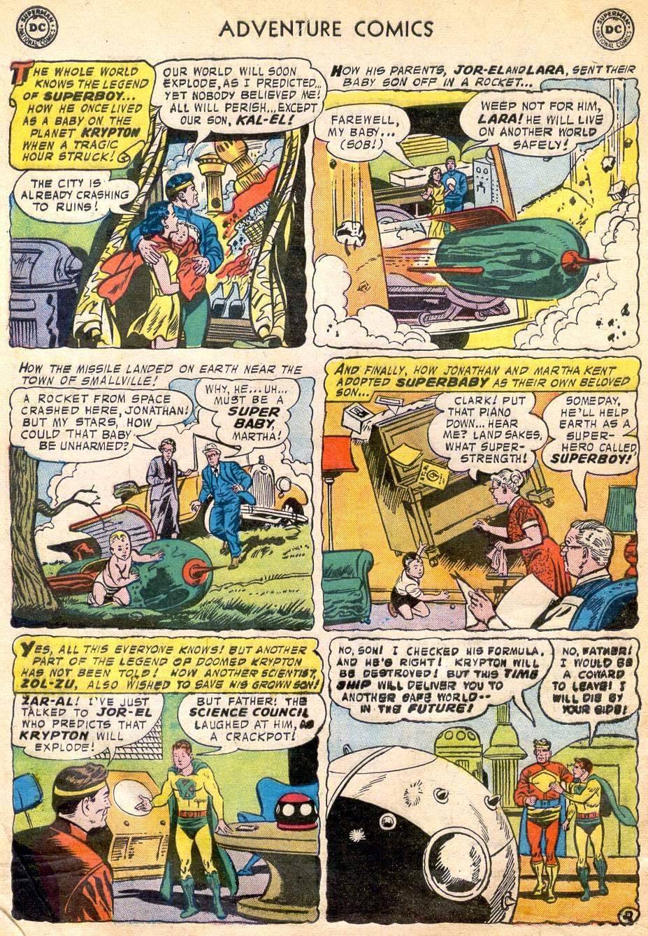 Read online Adventure Comics (1938) comic -  Issue #242 - 4
