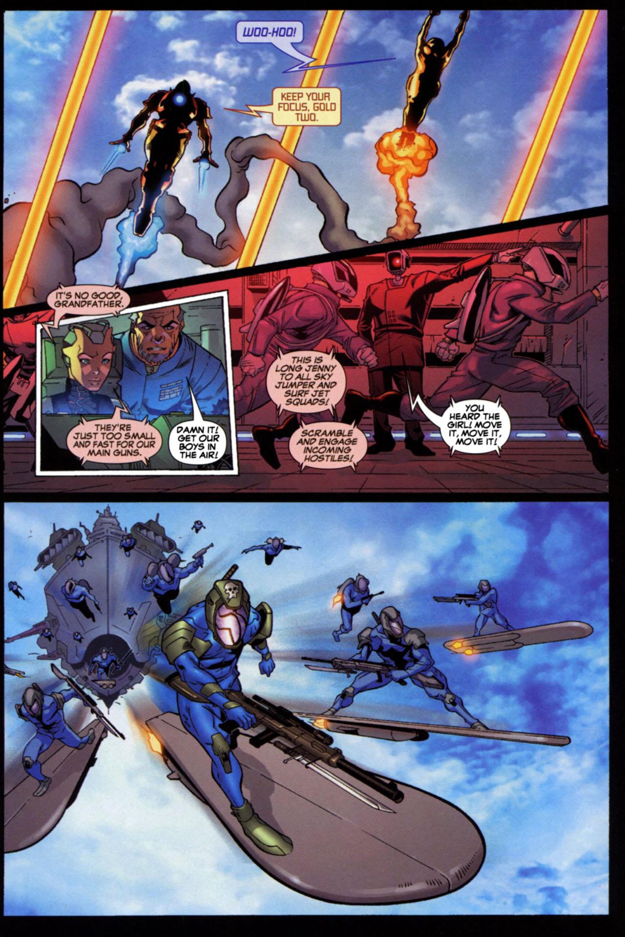 Read online Astonishing Tales (2009) comic -  Issue #4 - 11