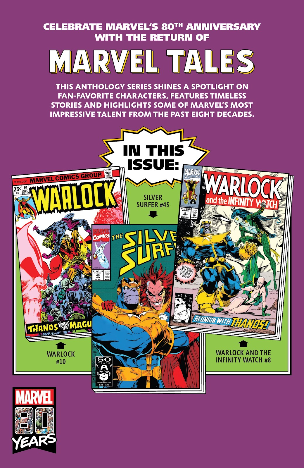 Read online Marvel Tales: Thanos comic -  Issue # Full - 70