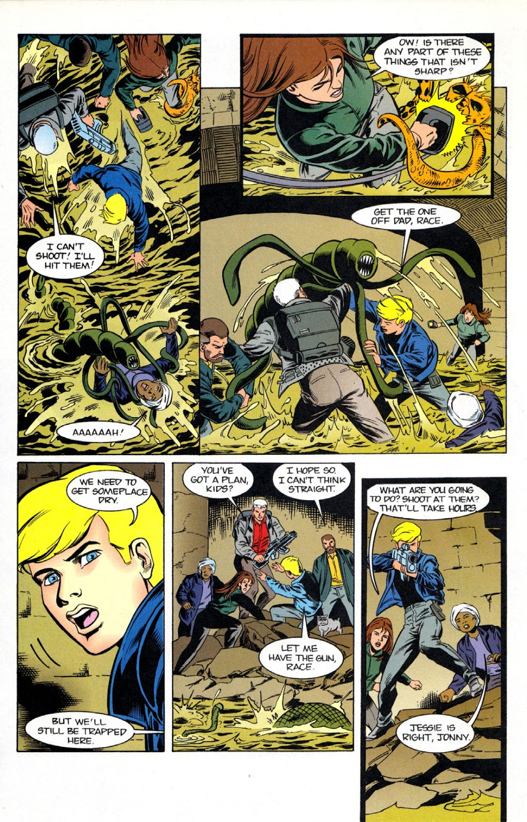 Read online The Real Adventures of Jonny Quest comic -  Issue #7 - 14