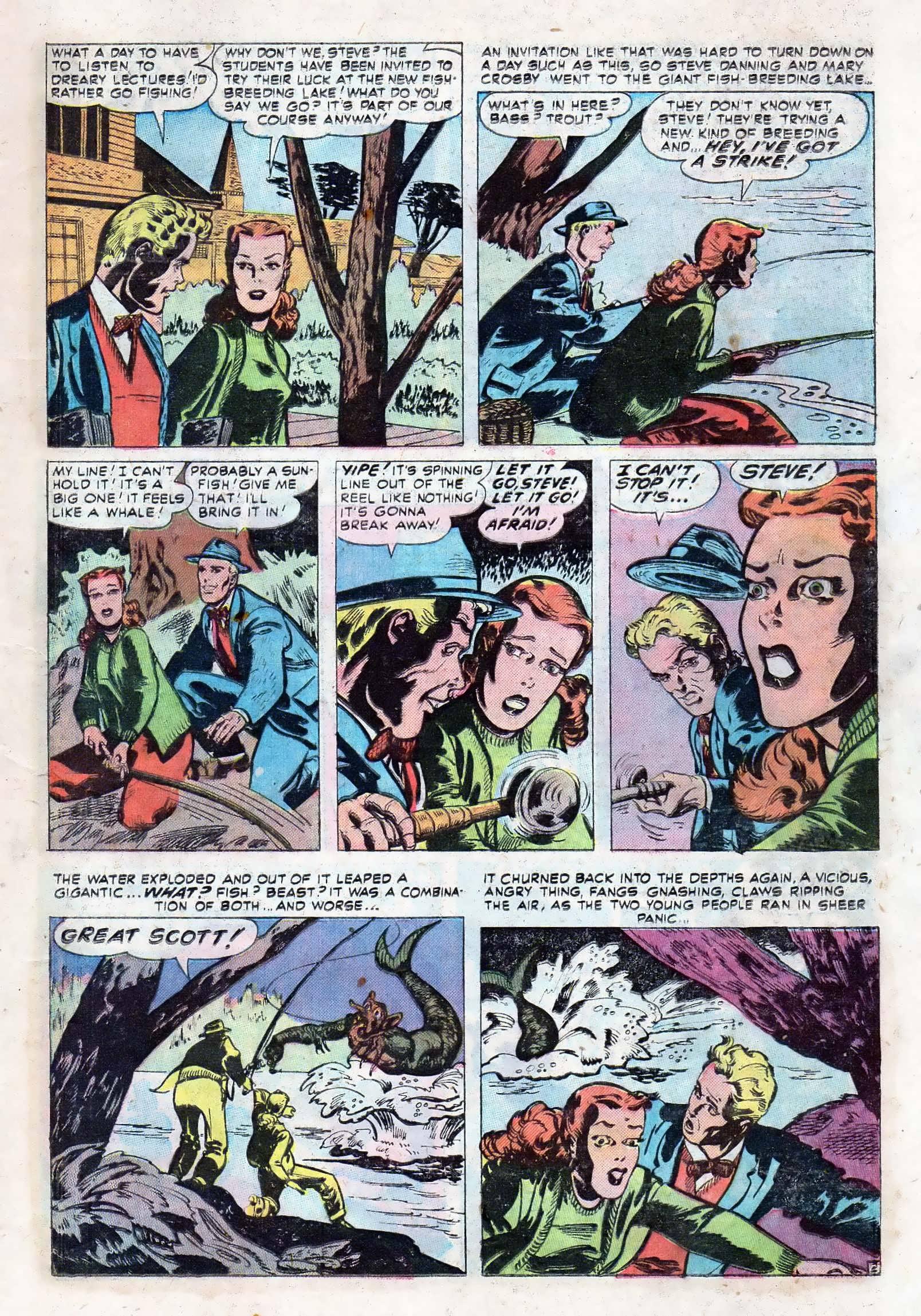 Read online Adventures into Weird Worlds comic -  Issue #10 - 10