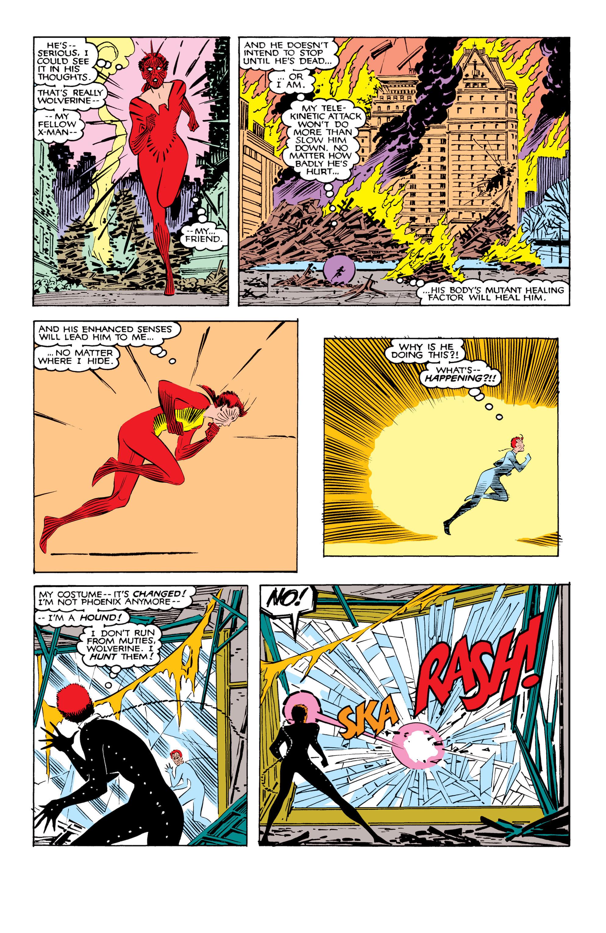 Read online Uncanny X-Men (1963) comic -  Issue #207 - 4