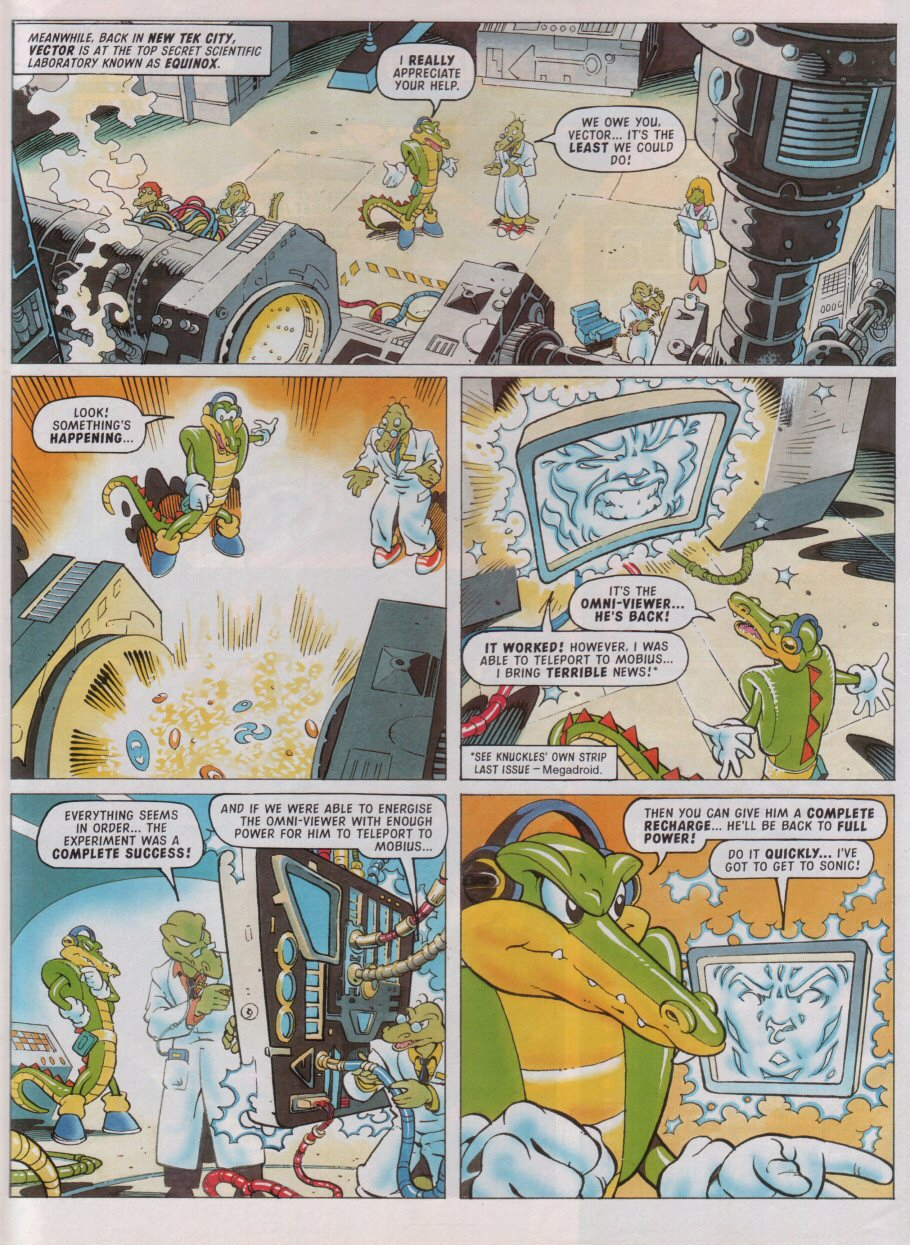 Read online Sonic the Comic comic -  Issue #99 - 4