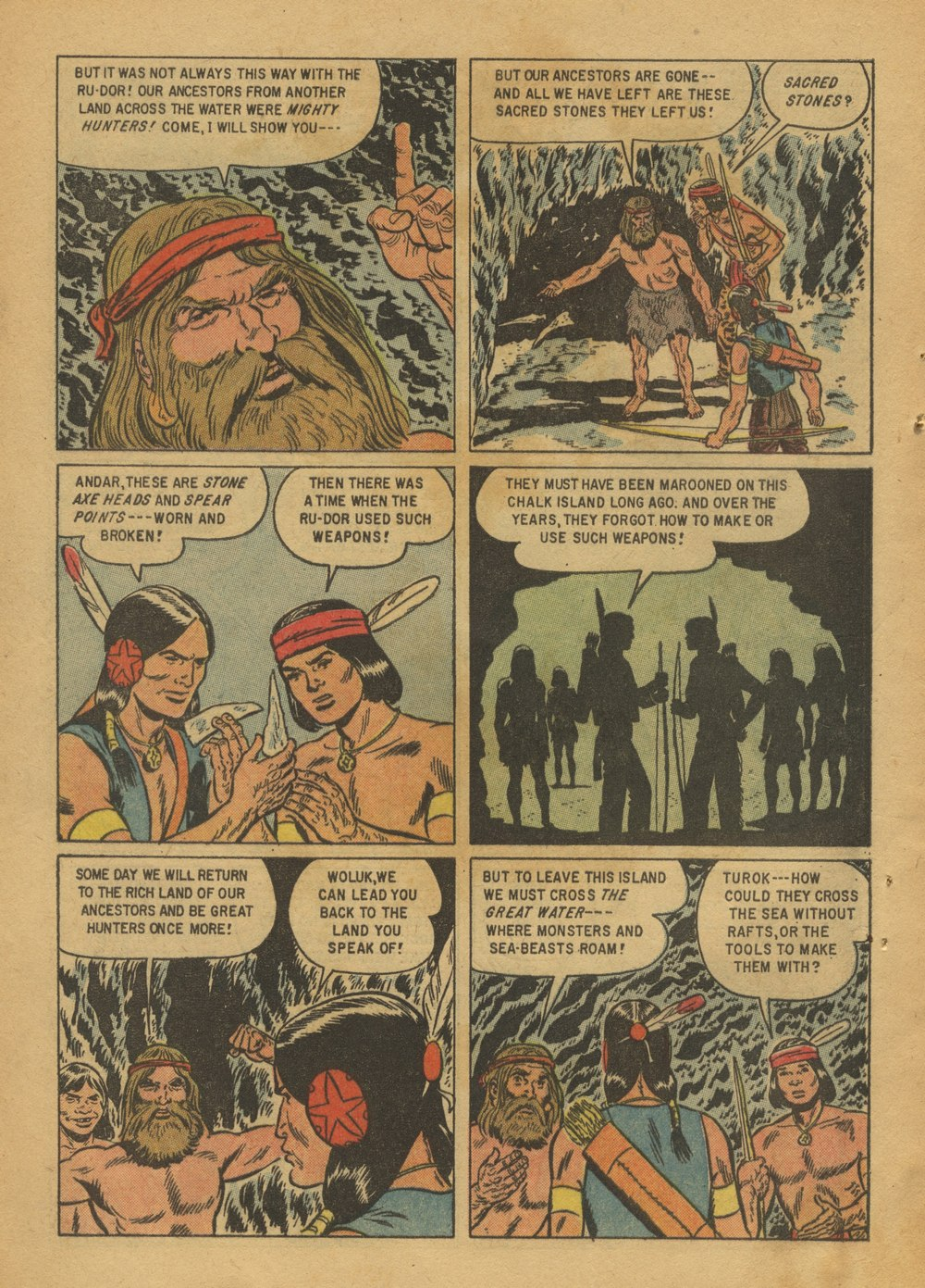 Read online Turok, Son of Stone comic -  Issue #12 - 28