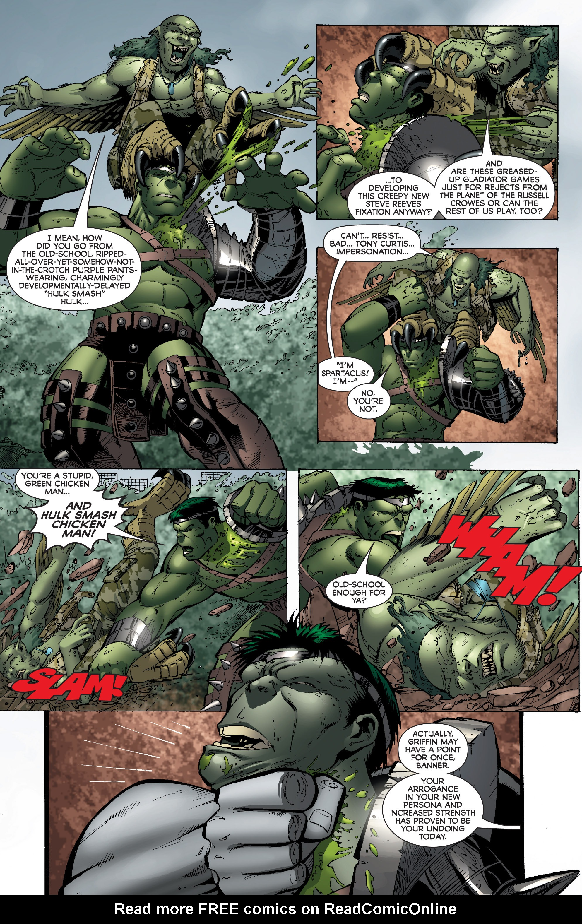 Read online World War Hulk: Gamma Corps comic -  Issue #3 - 22
