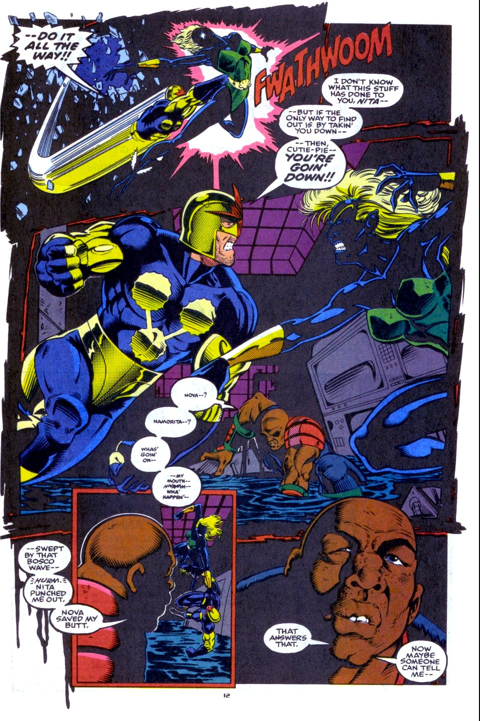 The New Warriors Issue #33 #37 - English 10