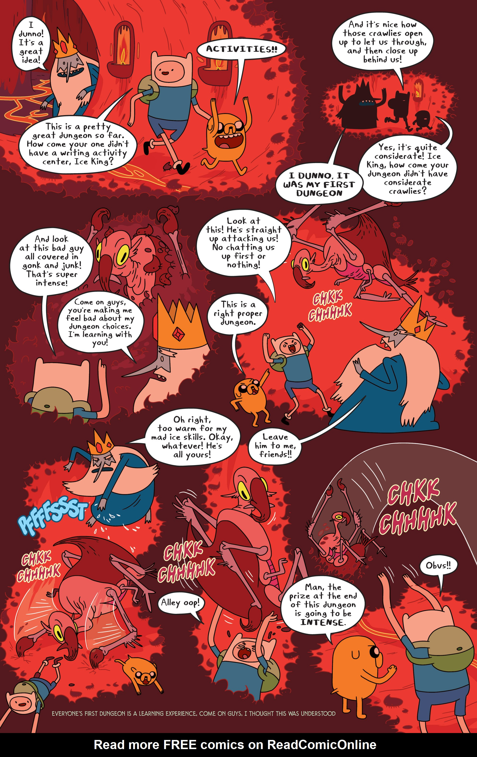 Read online Adventure Time comic -  Issue #17 - 17