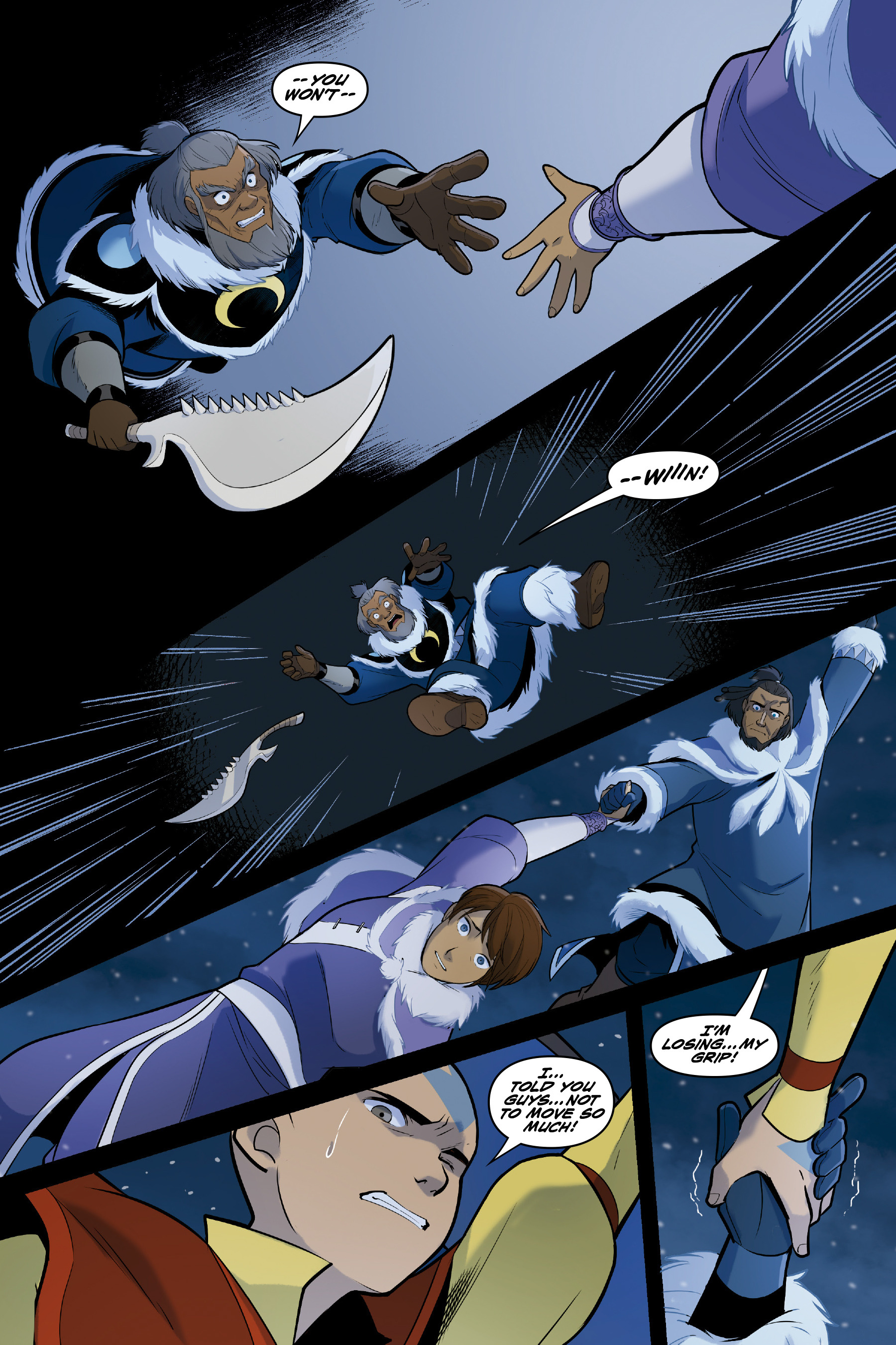 Read online Nickelodeon Avatar: The Last Airbender - North and South comic -  Issue #3 - 65