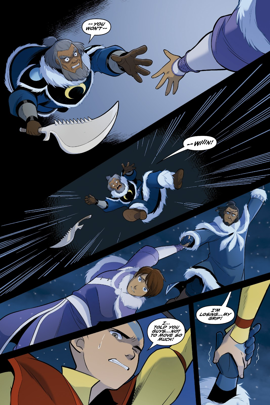 Nickelodeon Avatar: The Last Airbender - North and South issue 3 - Page 65