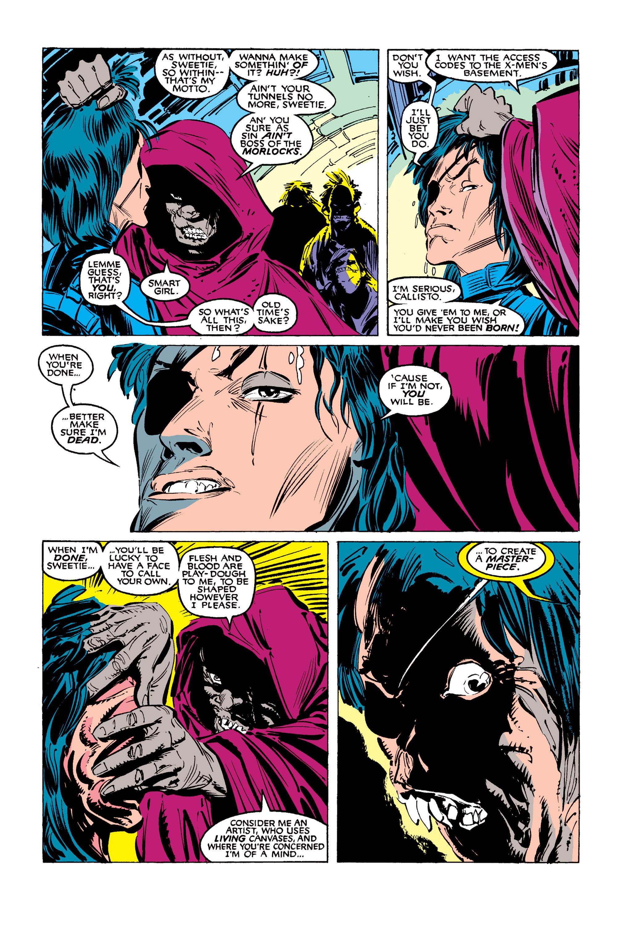 Read online Uncanny X-Men (1963) comic -  Issue #254 - 11