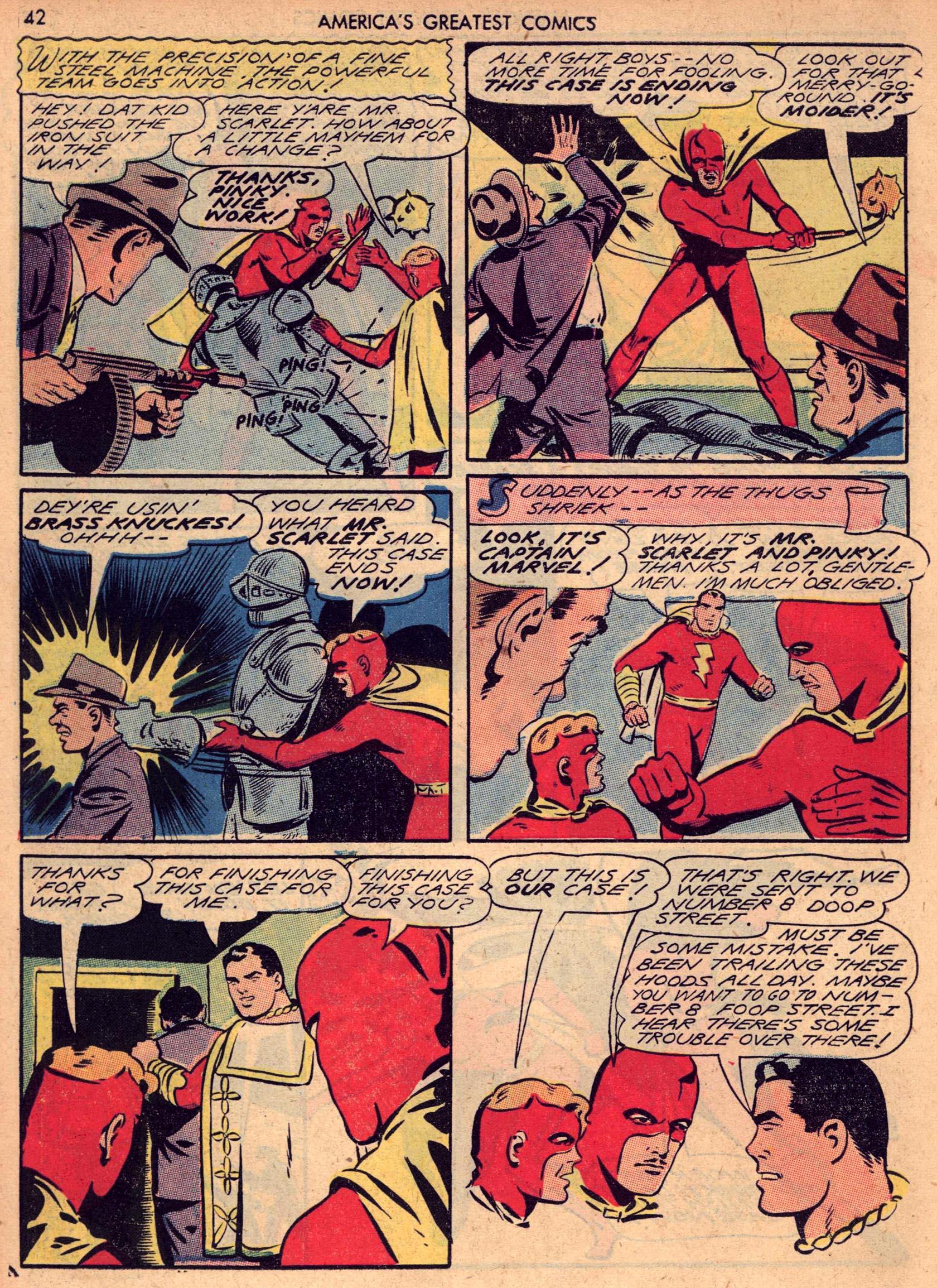 Read online America's Greatest Comics comic -  Issue #7 - 41