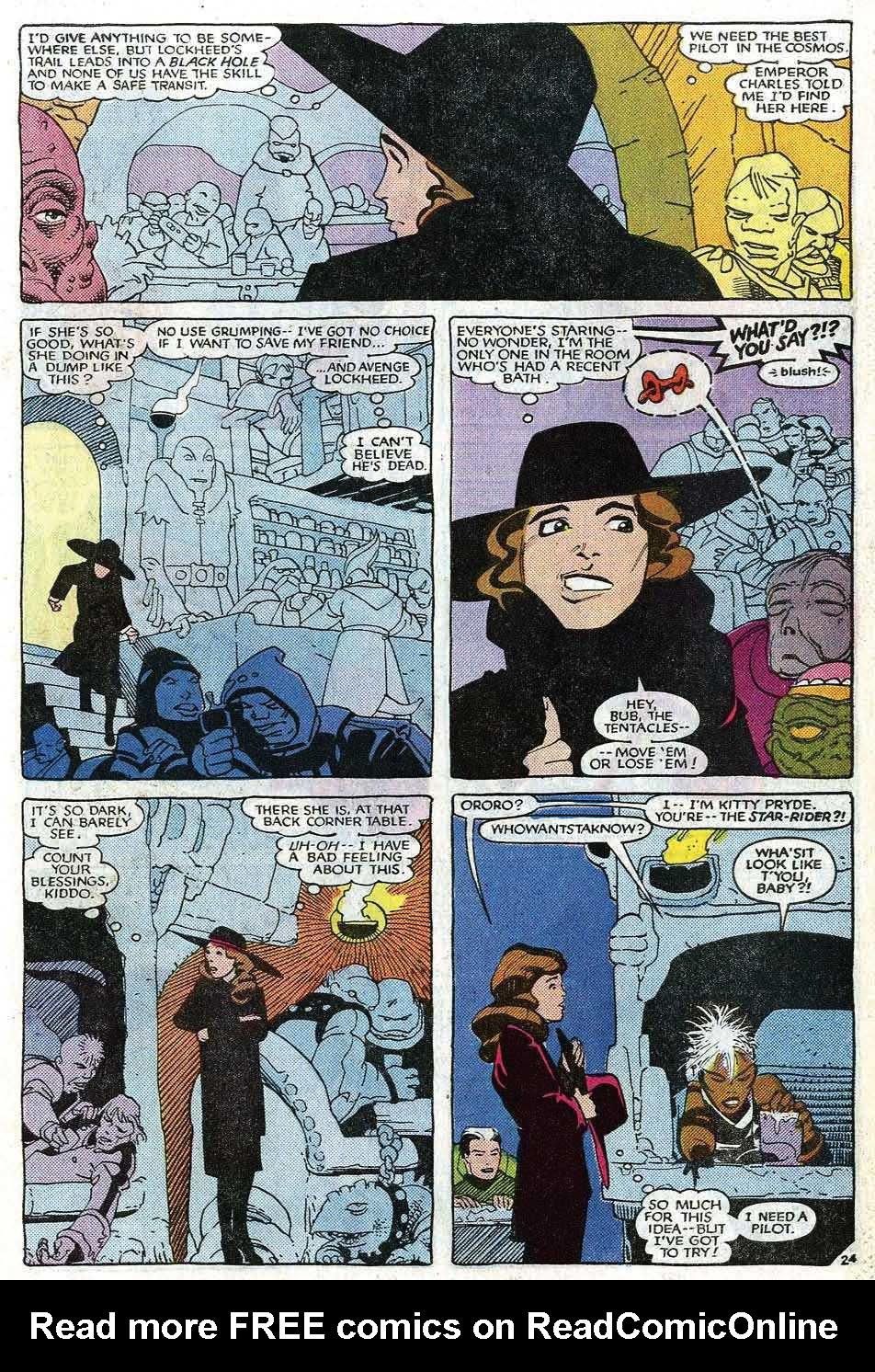 Read online Uncanny X-Men (1963) comic -  Issue # _Annual 8 - 29