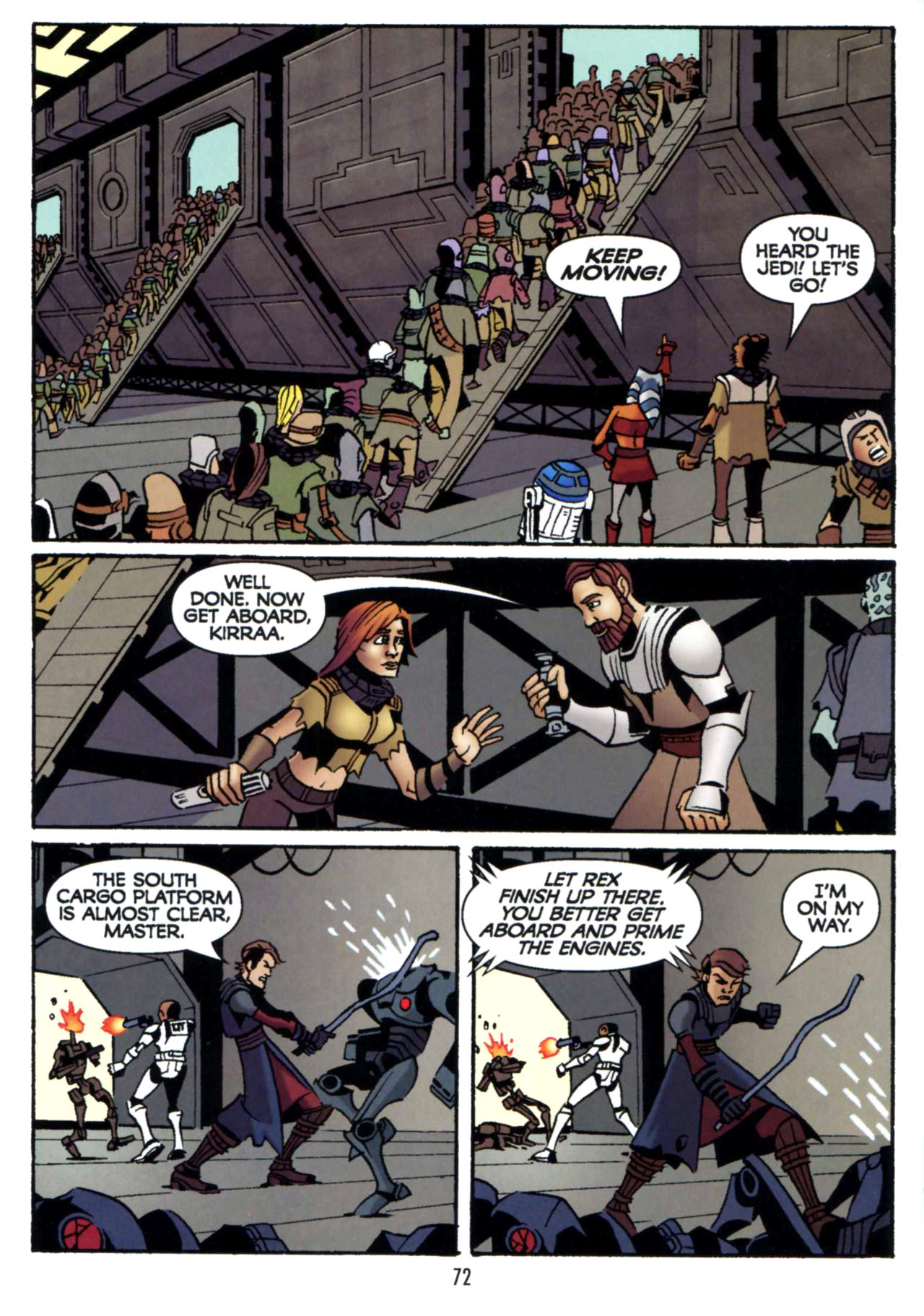 Read online Star Wars: The Clone Wars - Shipyards of Doom comic -  Issue # Full - 70