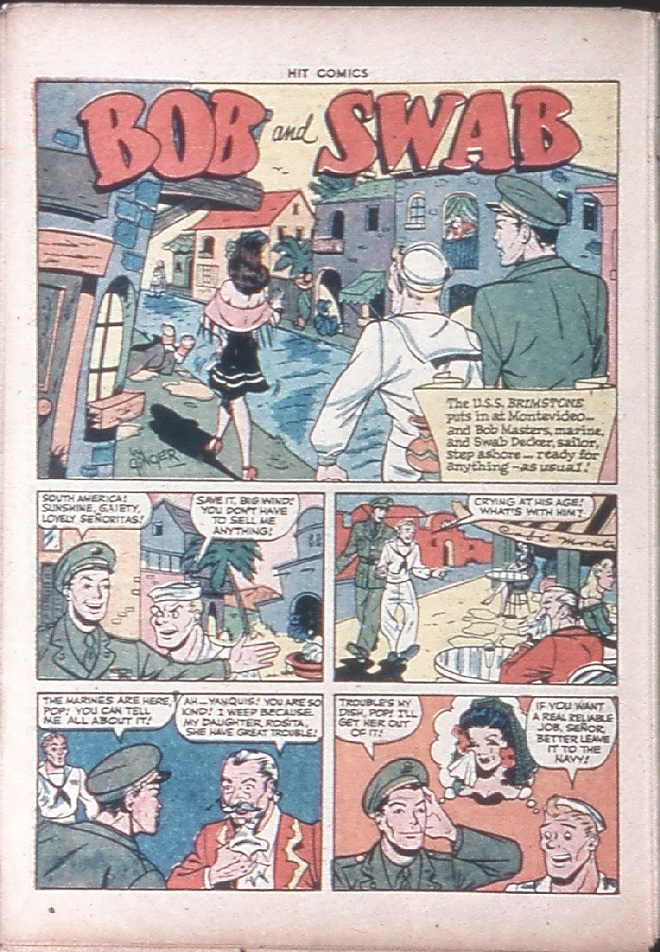 Read online Hit Comics comic -  Issue #36 - 46