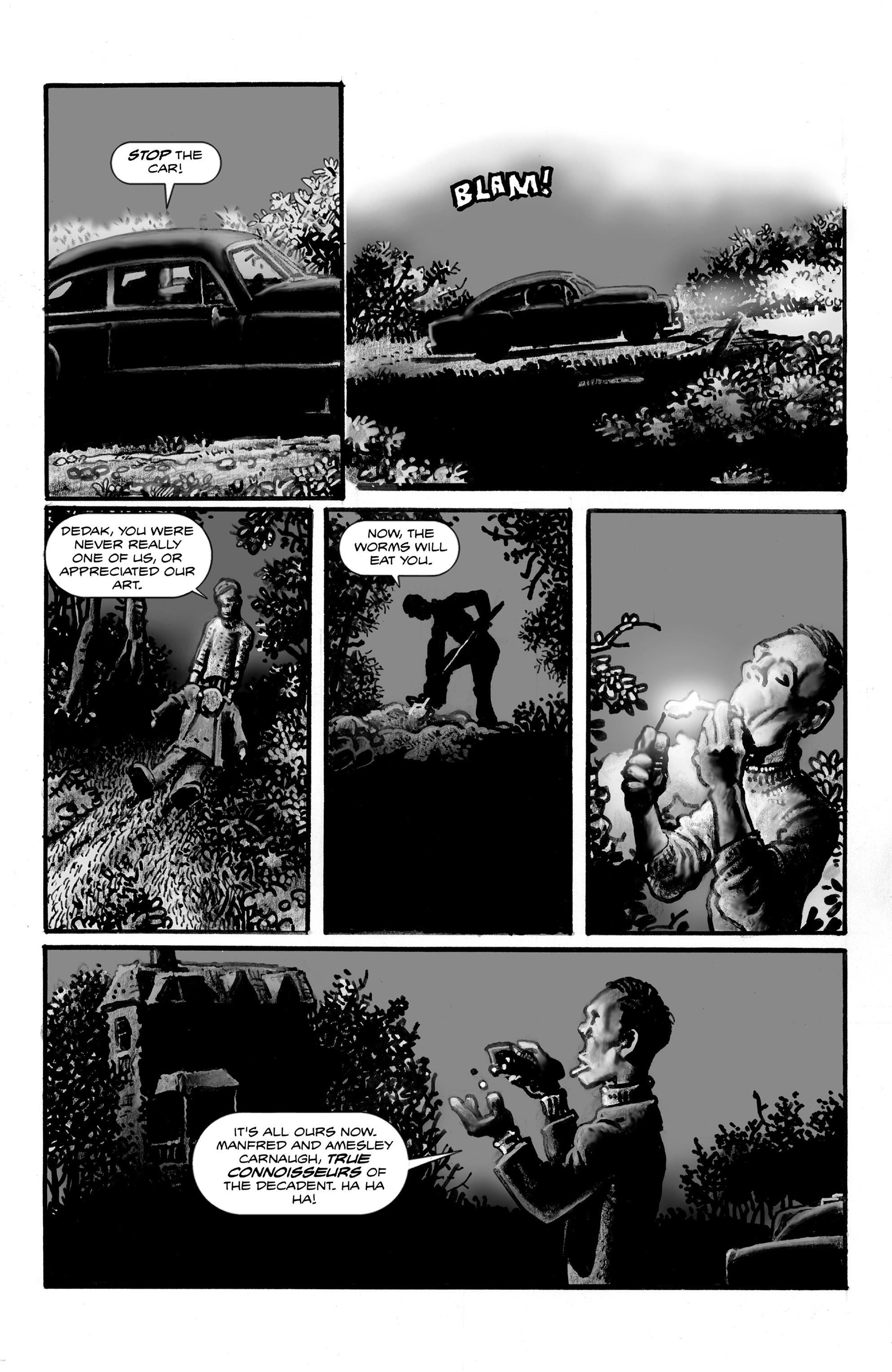 Read online Shadows on the Grave comic -  Issue #3 - 14