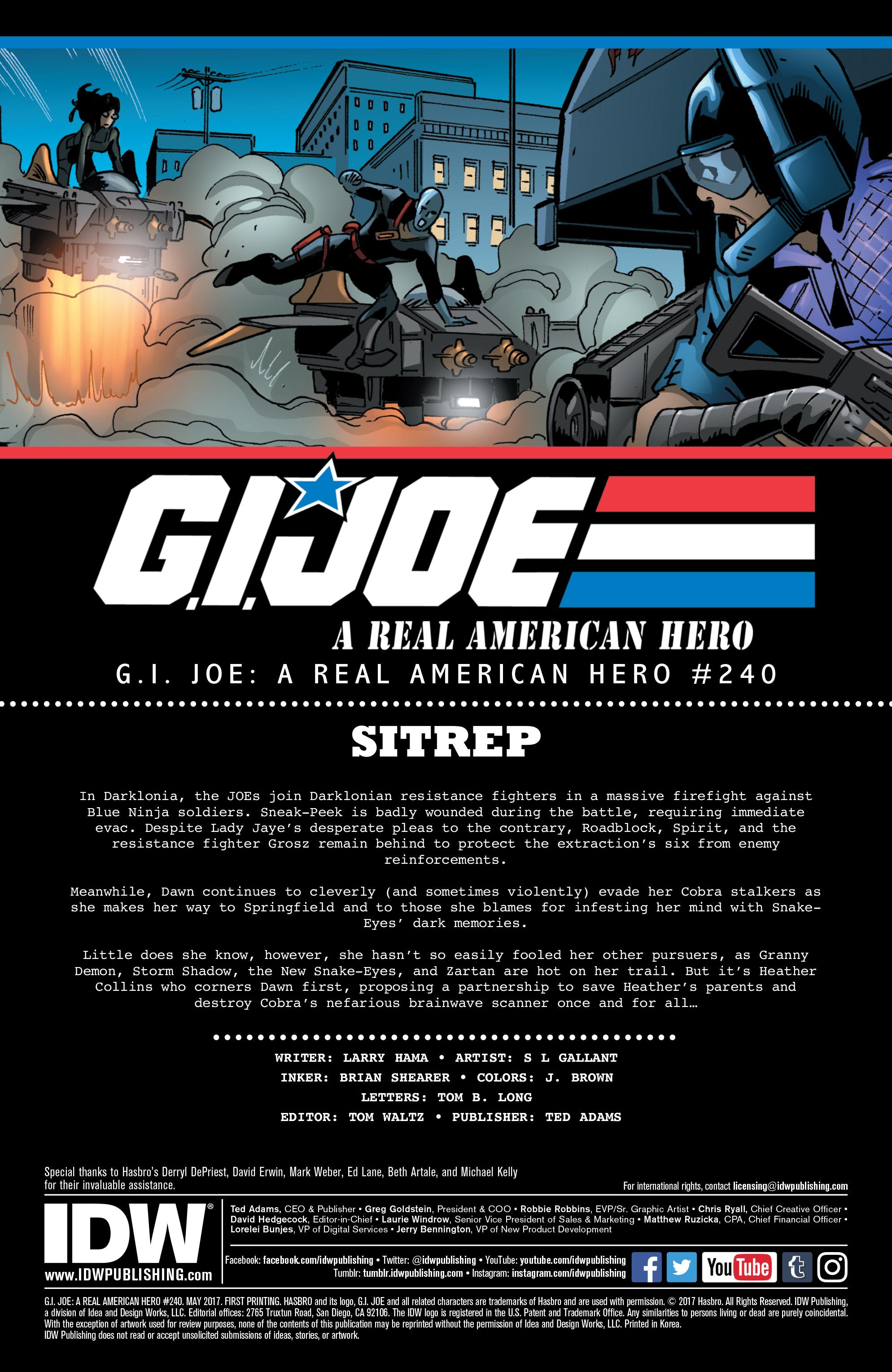 Read online G.I. Joe: A Real American Hero comic -  Issue #240 - 2