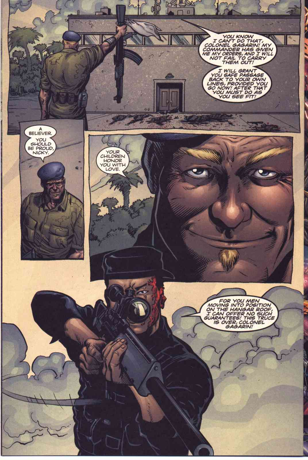Read online Fury comic -  Issue #5 - 14