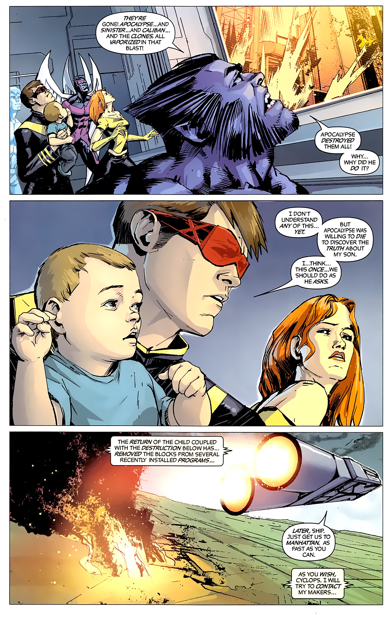 Read online X-Factor Forever comic -  Issue #5 - 9