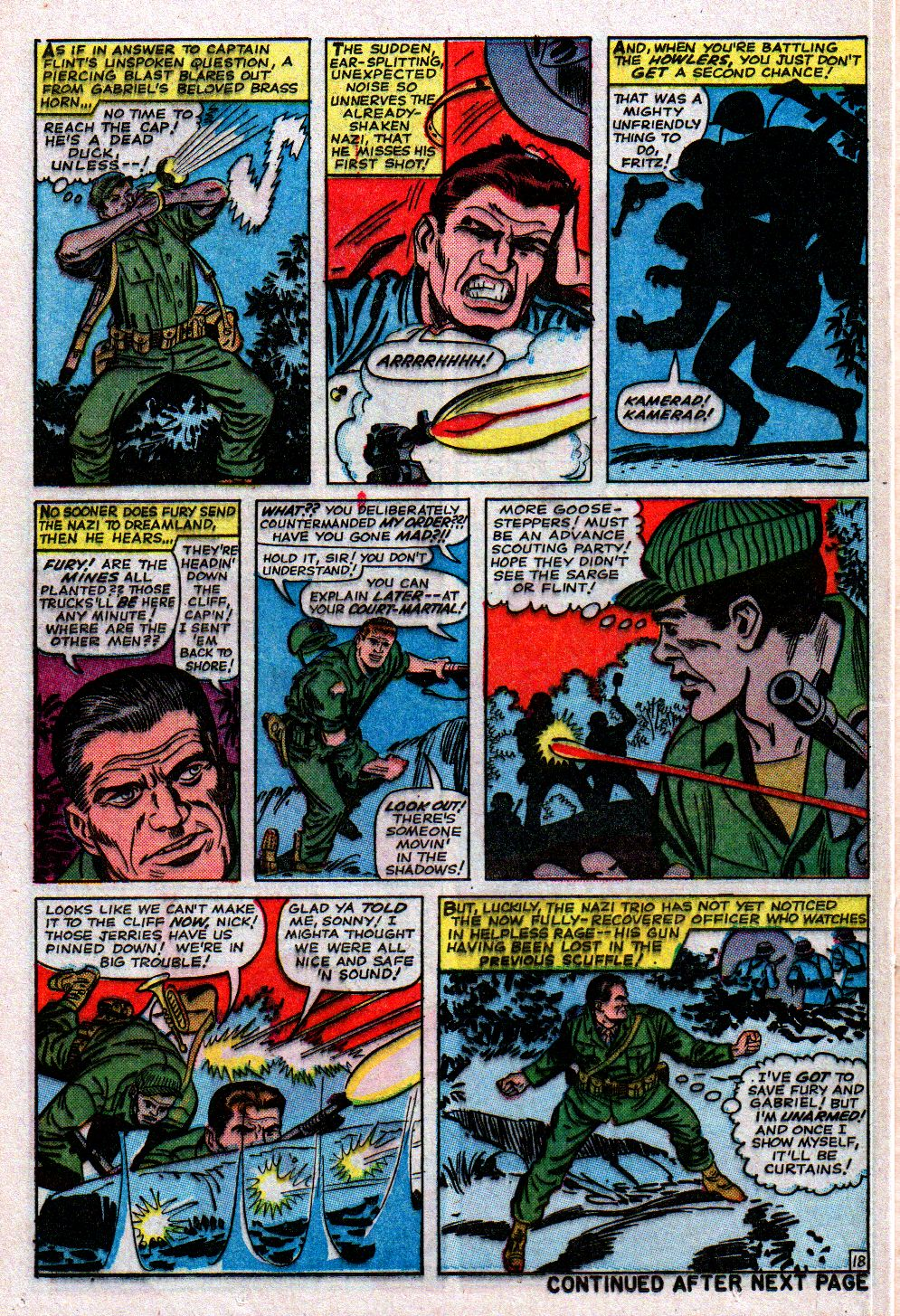 Read online Sgt. Fury comic -  Issue #11 - 24