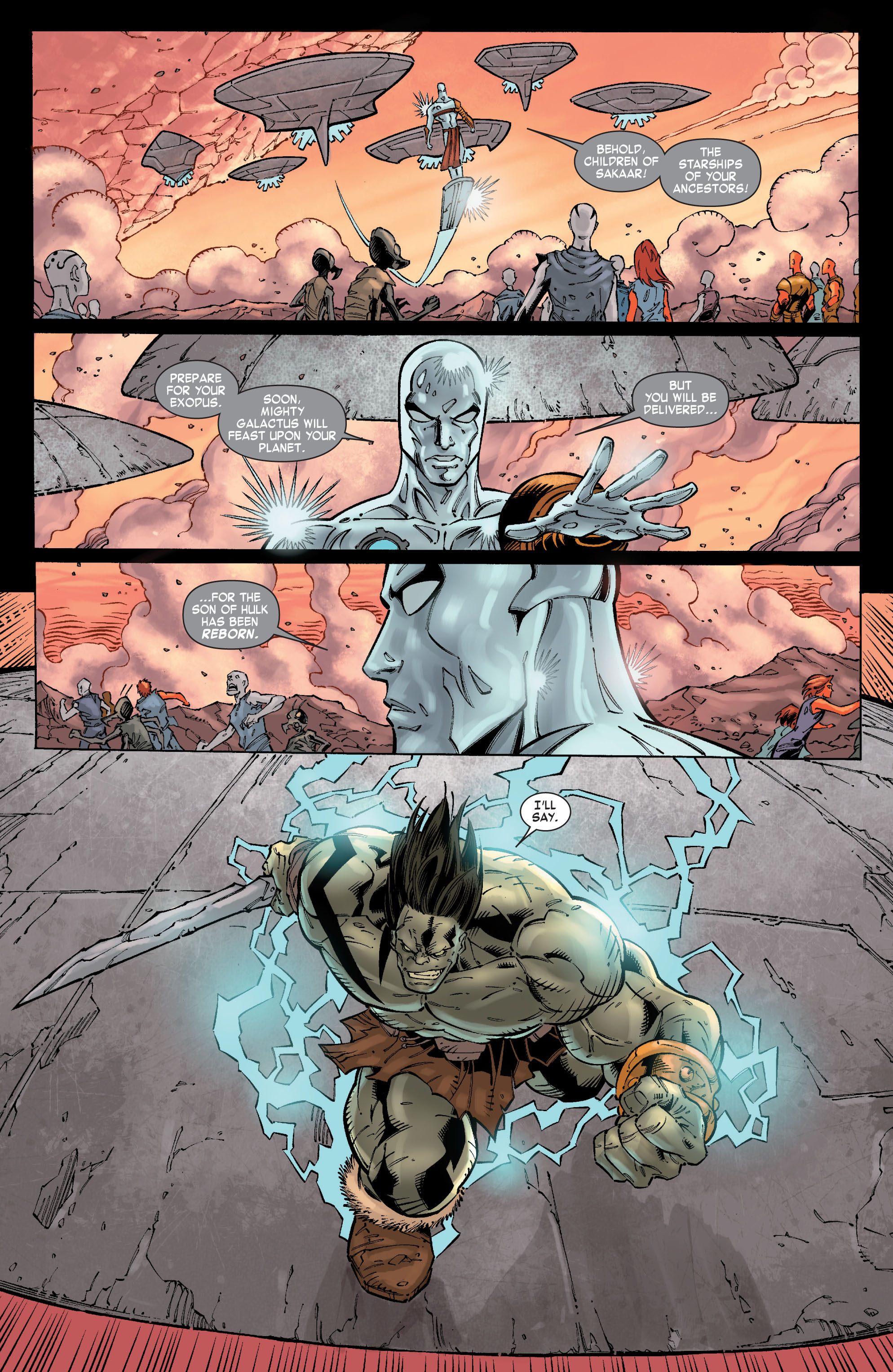 Read online Skaar: Son of Hulk comic -  Issue #10 - 16