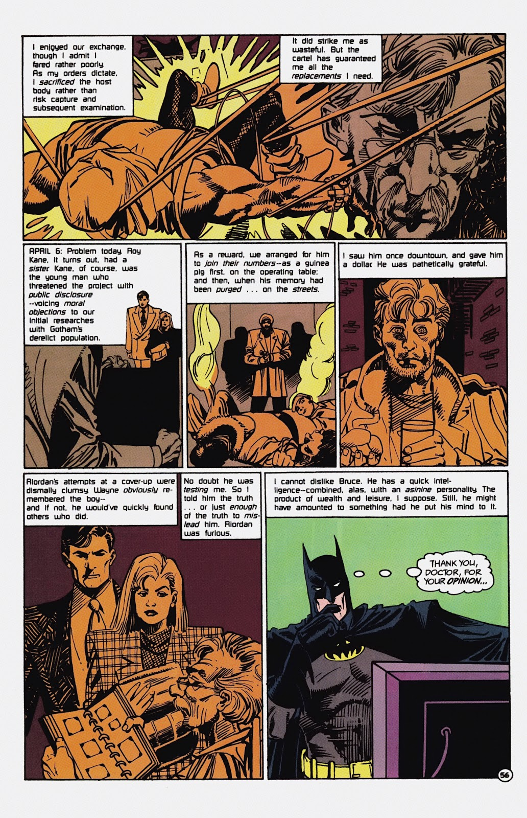 Read online Detective Comics (1937) comic -  Issue # _TPB Batman - Blind Justice (Part 1) - 61