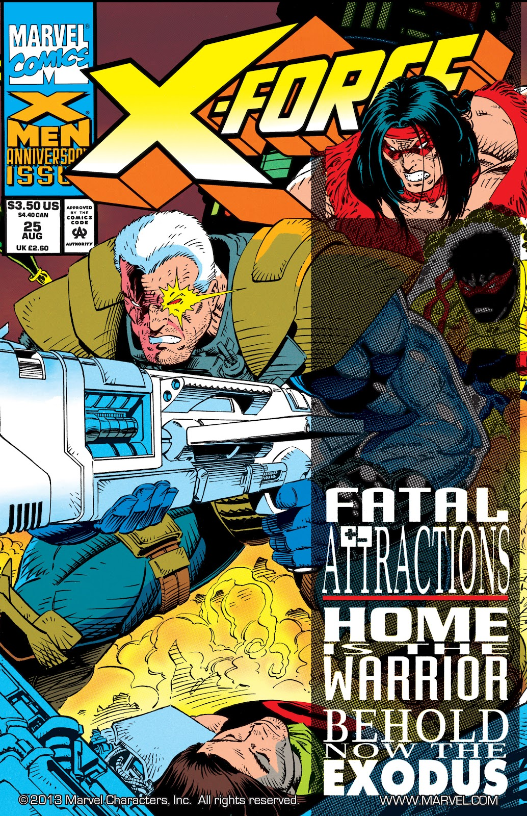 X-Force (1991) 25 Page 1