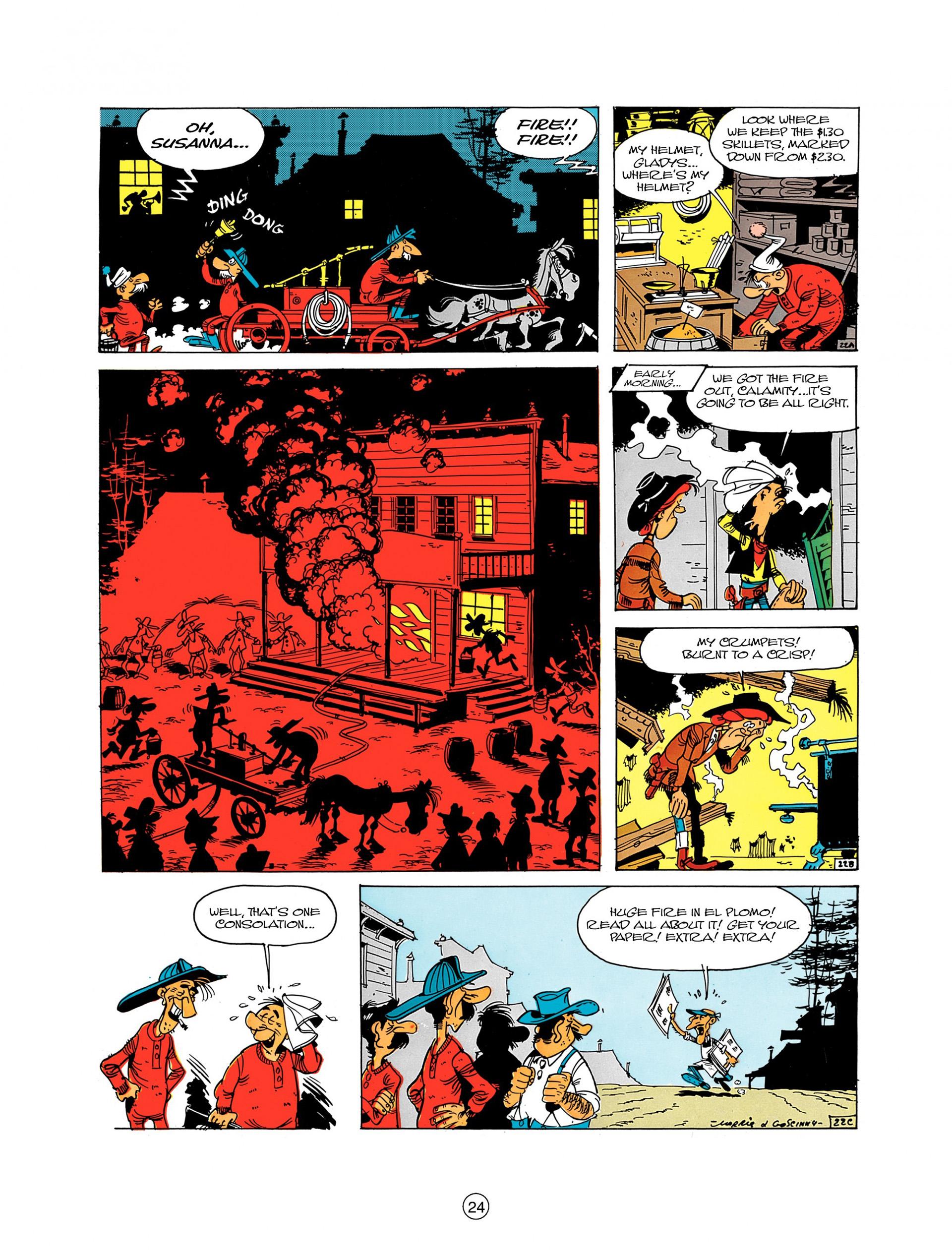 Read online A Lucky Luke Adventure comic -  Issue #8 - 24