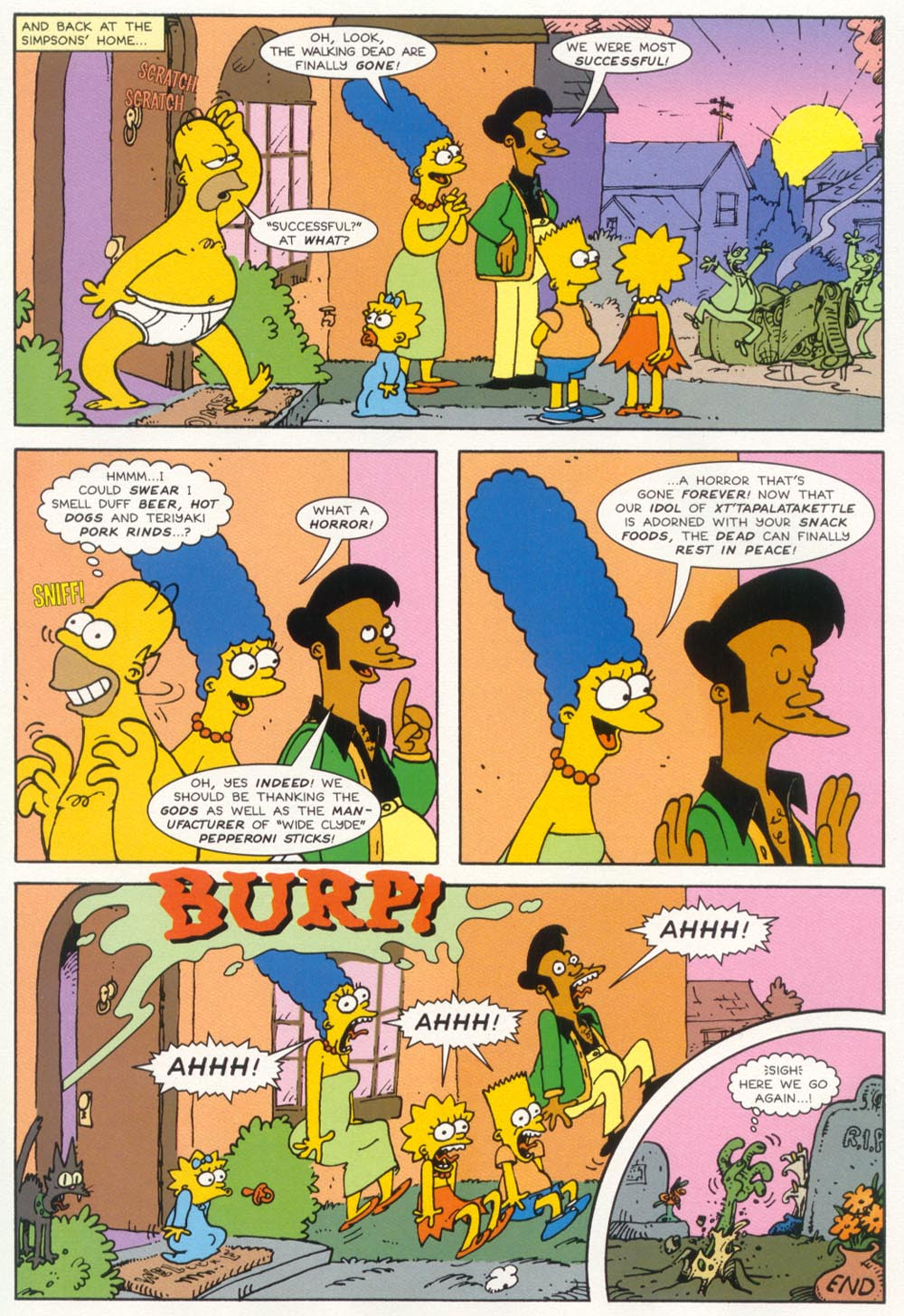 Read online Treehouse of Horror comic -  Issue #5 - 28
