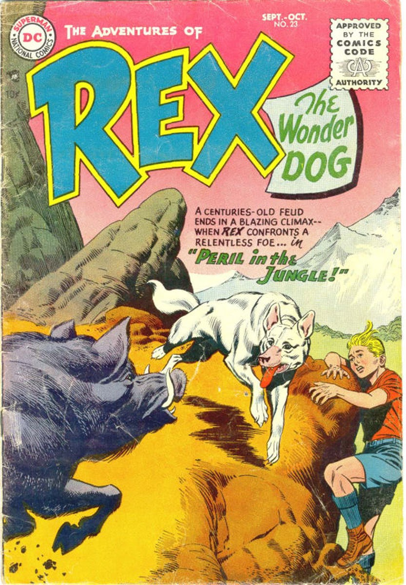 The Adventures of Rex the Wonder Dog issue 23 - Page 1
