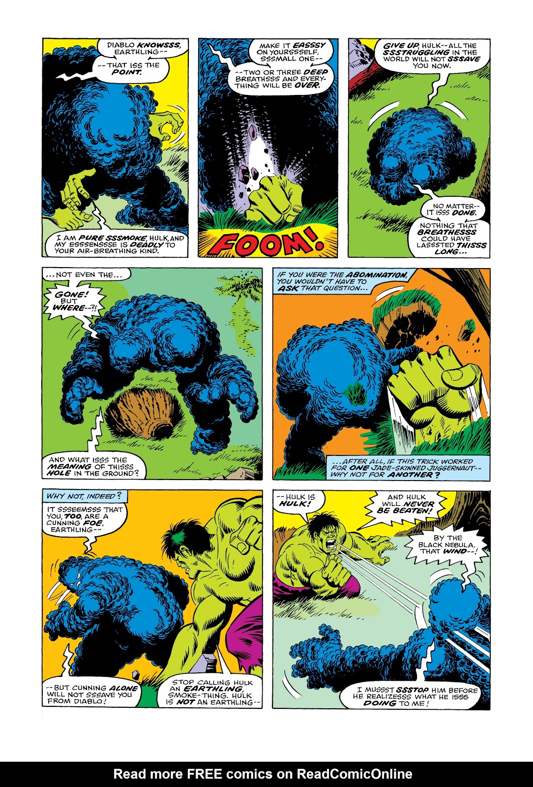 Read online Marvel Masterworks: The Incredible Hulk comic -  Issue # TPB 12 (Part 1) - 54