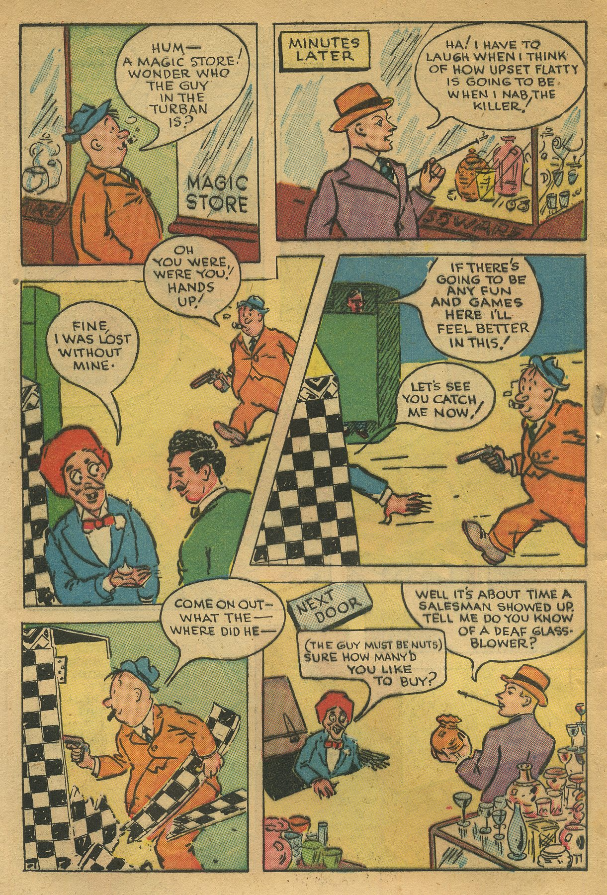 Read online Shadow Comics comic -  Issue #49 - 40