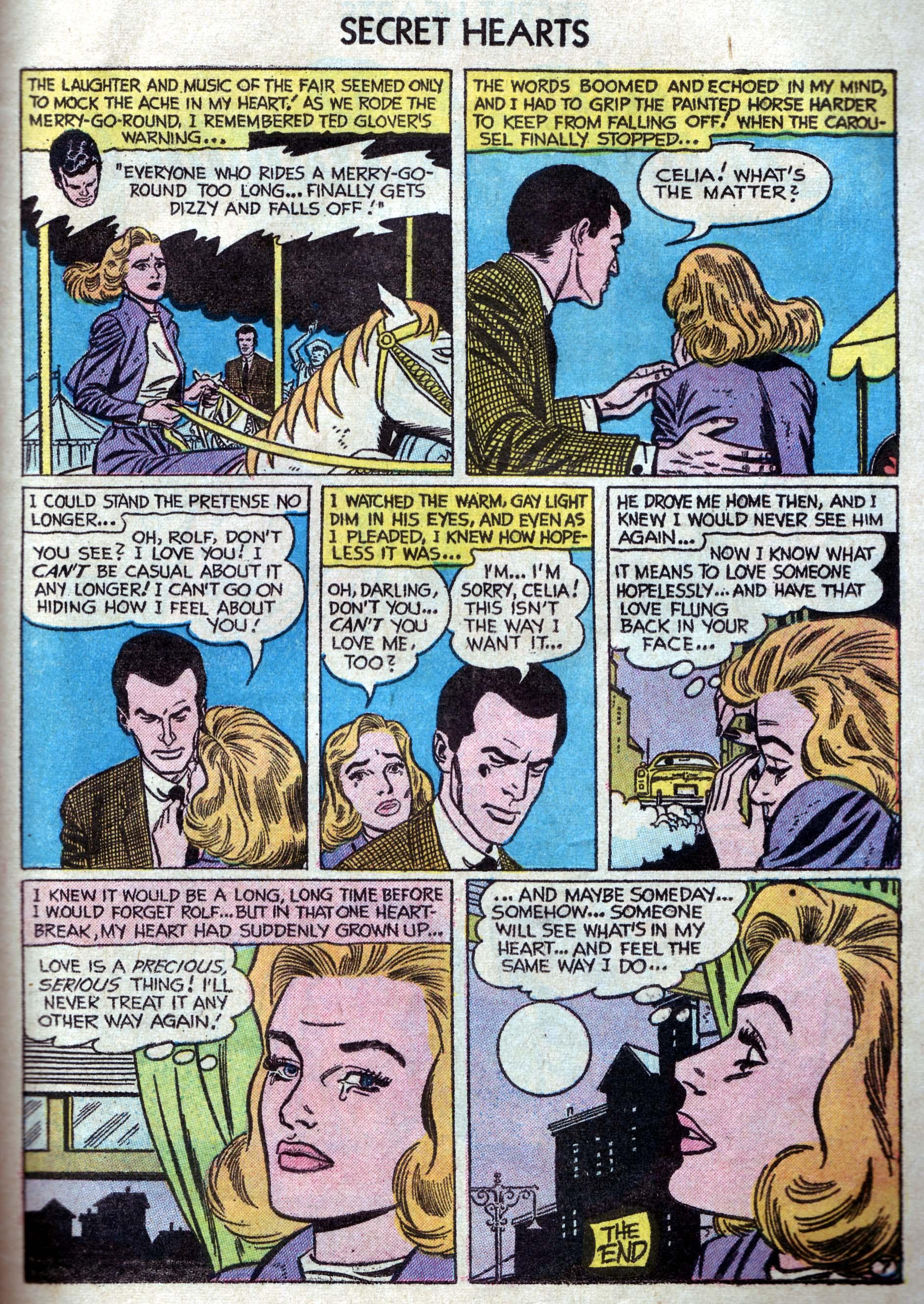 Read online Secret Hearts comic -  Issue #33 - 25
