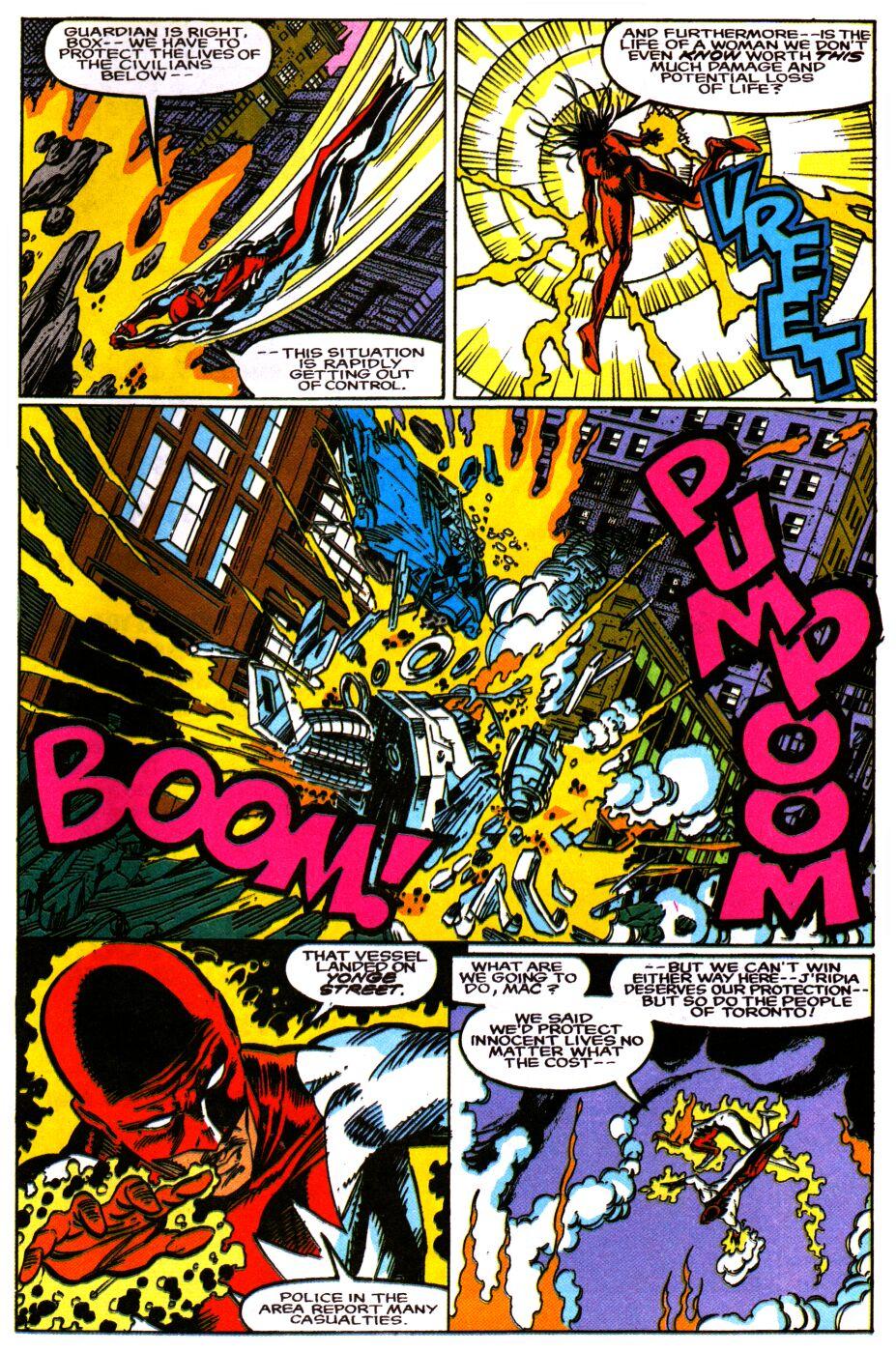 Read online Alpha Flight Special comic -  Issue #1 - 21