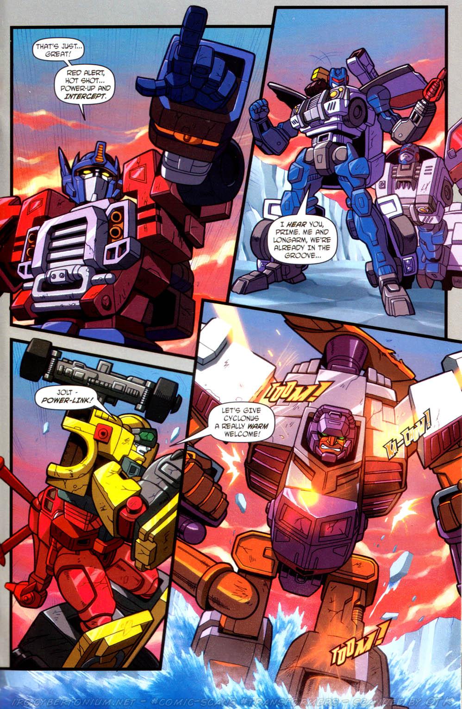 Read online Transformers Armada comic -  Issue #13 - 15